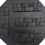 "Форма для искусственного камня Pixus 3D ""Корсика"" 31 x 9 x 1.5 см, фото 2"