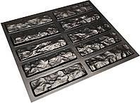 """Форма для искусственного камня Pixus 3D """"Мраморный кирпич""""210 x 60 x 10 мм"""