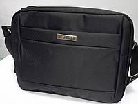 Мужская текстильная сумка для ноутбука через плечо LEADHAKE 7368
