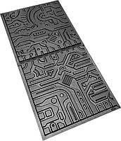 """Форма для 3Д панелей Pixus 3D комплект 2 шт""""Electronics"""" 50 x 50 x 1.5 см"""