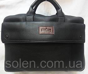 Мужской кожаный деловой портфель.