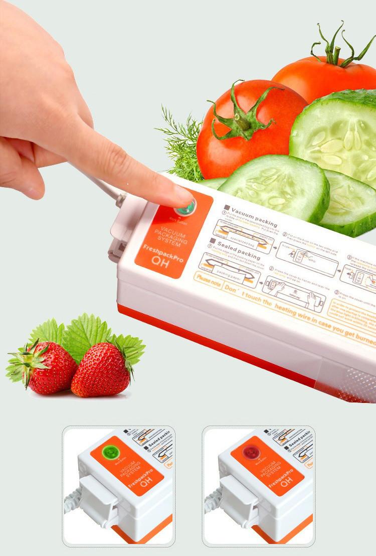 Вакуумный упаковщик freshpack pro купить массажер dh68