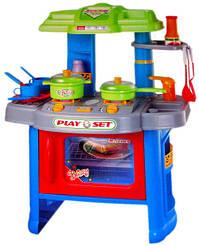 Детская пластиковая игровая кухня для девочки, плита 2 камфорки Play Set