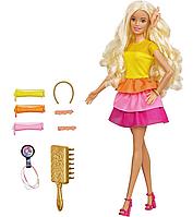 Игровой набор Барби (УПАКОВКА ПОВРЕЖДЕНА) Barbie Ultimate Curls Doll Mattel GBK24