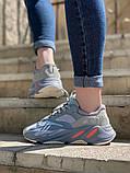 Стильні жіночі кросівки Adidas Yeezy boost 700, фото 3