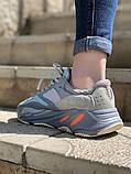 Стильні жіночі кросівки Adidas Yeezy boost 700, фото 2