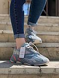 Стильні жіночі кросівки Adidas Yeezy boost 700, фото 4