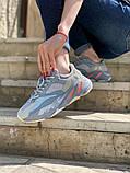 Стильні жіночі кросівки Adidas Yeezy boost 700, фото 6