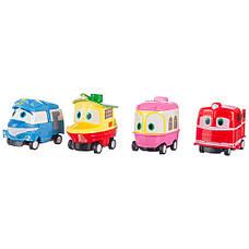 Игровой автотрек-гараж Robot Trains (Роботы Кей, Альф, Утенок и Селли), фото 3