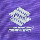 Детское кимоно для бразильского Джиу-Джитсу Firepower Ukraine Фиолетовое, фото 10