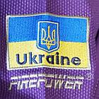 Детское кимоно для бразильского Джиу-Джитсу Firepower Ukraine Фиолетовое, фото 8