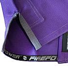 Детское кимоно для бразильского Джиу-Джитсу Firepower Ukraine Фиолетовое, фото 7