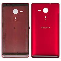 Задняя крышка Sony C5302 Xperia SP | C5303, красная