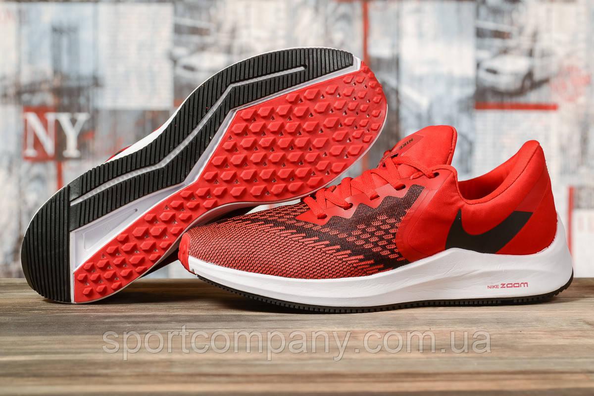 Кроссовки мужские 17074, Nike Zoom Winflo 6, красные, [ 41 42 43 44 45 ] р. 41-26,5см.