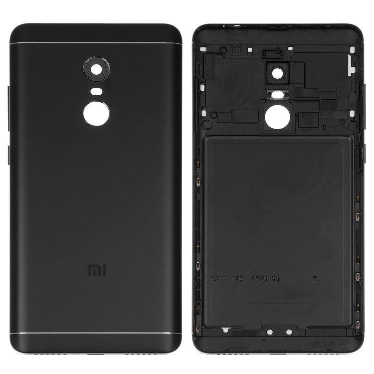 Задняя крышка Xiaomi Redmi Note 4 MediaTek   Note 4X, чёрная