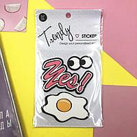 Набор декоративных наклеек Trendy Sticker Yes