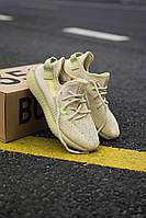 """Стильные кроссовки Adidas Yeezy Boost 350 V2 """"Flax"""" (Адидас Изи Буст 350 ), фото 1"""