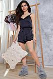 1348/7 Женская шелковая пижама разные цвета, фото 6
