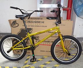 Трюкових велосипедів Crosser BMX 20 Gold