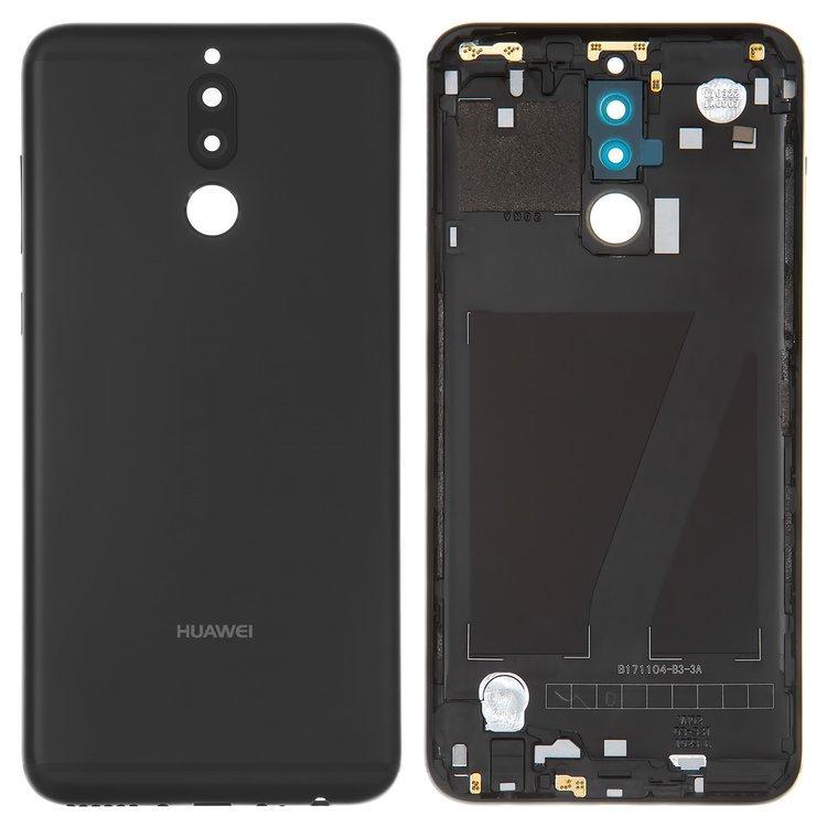 Задняя крышка Huawei Mate 10 Lite чёрная оригинал