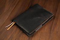 Обложка для ежедневника формата А5 Модель №12 Винтажная кожа цвет Шоколад