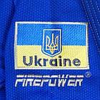Женское кимоно для бразильского Джиу-Джитсу Firepower Ukraine Синее, фото 6