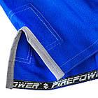 Женское кимоно для бразильского Джиу-Джитсу Firepower Ukraine Синее, фото 7