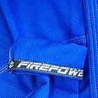 Женское кимоно для бразильского Джиу-Джитсу Firepower Ukraine Синее, фото 8