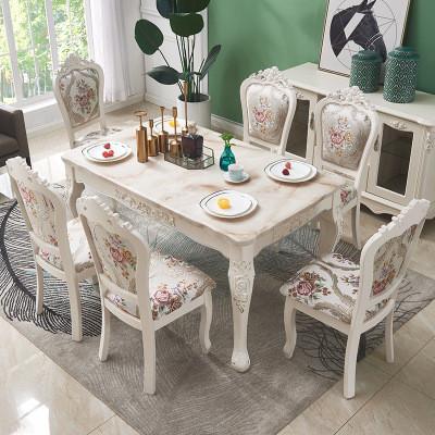 Стол прямоугольный со стульями. Модель 2-431