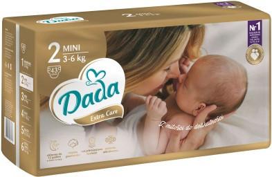 Dada  Подгузники Dada Extra Care 2 Mini (4-9 кг) 43 шт