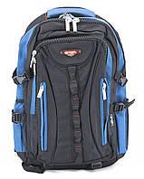 Рюкзак 8713 Power London черный с синим