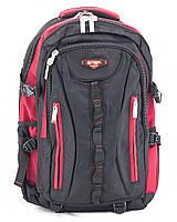 Рюкзак 8713 Power London черный с красным