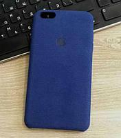 Замшевый чехол-накладка Alcantara для iPhone 6/6s Plus, фото 1