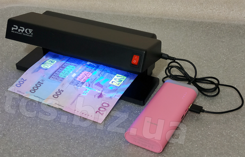 детектор валют - з можливістю використання різних джерел живлення