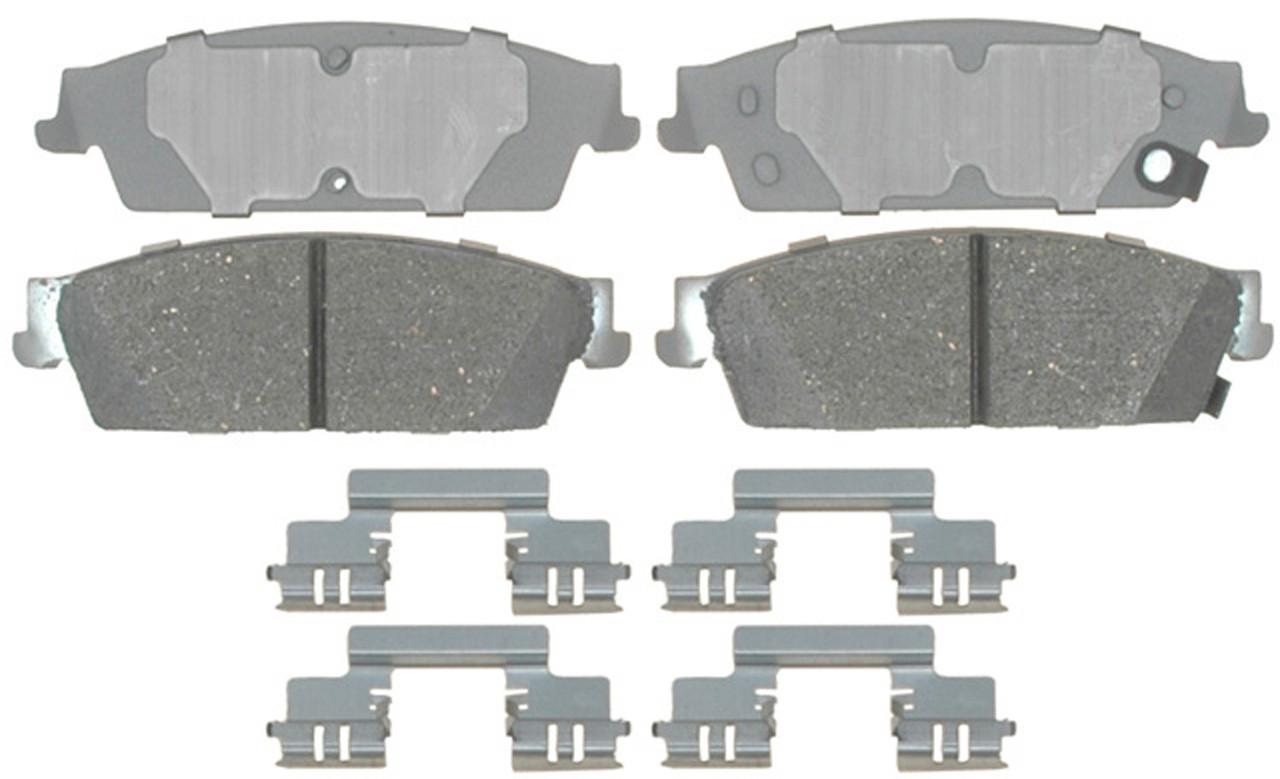Колодки тормозные задние ACDELCO 14D1194CH CADILLAC ESCALADE CHEVROLET AVALANCHE CHEVROLET SILVERADO 1500
