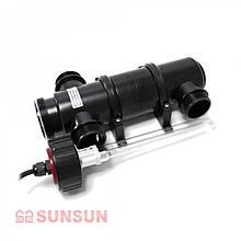 УФ-стерилизатор SunSun CUV-118 (18 Вт) для аквариума (900 л), пруда (20 м3)