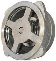 Клапан обратный межфланцевый из н/ж стали, пружинный, Ру=40, Ду от 15 до 150