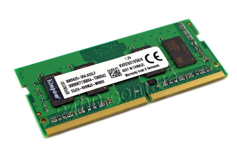 оперативная память ddr4 8gb для ноутбука KVR26S19S8/8