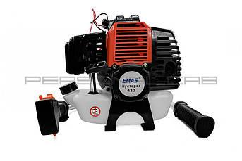 Бензотриммер (мотокоса) EMAS на Китайский Мотоцикл CG 4Т 4-х тактный 430 (Нож 3Т, шпуля пластиковая, ремень) EVO