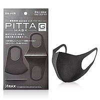 Багаторазова антибактеріальна маска PITTA Mask, 3 шт ОРИГІНАЛ