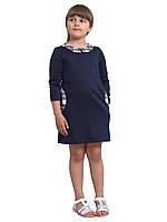 """Платье  детское с длинным рукавом   М -1142  рост  122 трикотажное разных цветов тм """"Попелюшка"""", фото 1"""