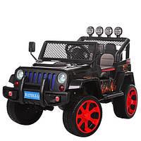 Детский электромобиль Джип «Jeep Wrangler» M 3237EBLR-2-3 Черный