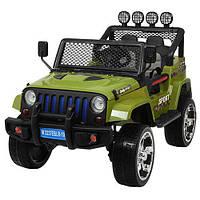 Детский электромобиль Джип «Jeep Wrangler» M 3237EBLR-10 Хаки