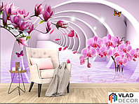 Фотообои Орхидеи 3д по Вашим размерам
