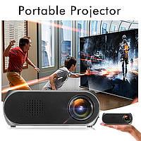 Мультимедийный портативный мини проектор Projector LED YG-320 Mini  Оригинал