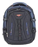 Рюкзак 4313 Power London черный с синим