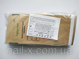 Крафт-пакеты коричневые  для дезинфекции инструментов педикюра и маникюра 100х200