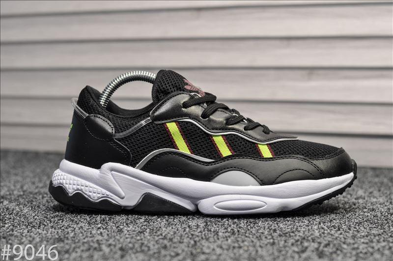 Мужские кроссовки Adidas Ozweego Black. [Размеры в наличии: 41,46]