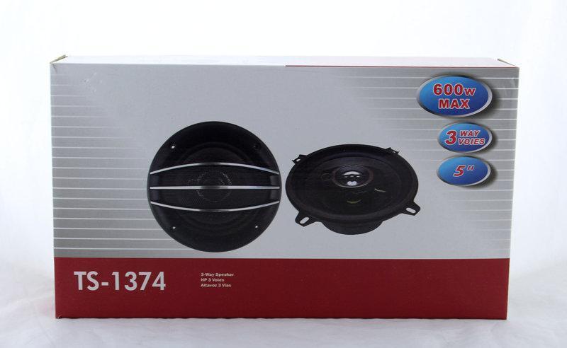 Автоколонки TS-1374 круглые 600 Вт
