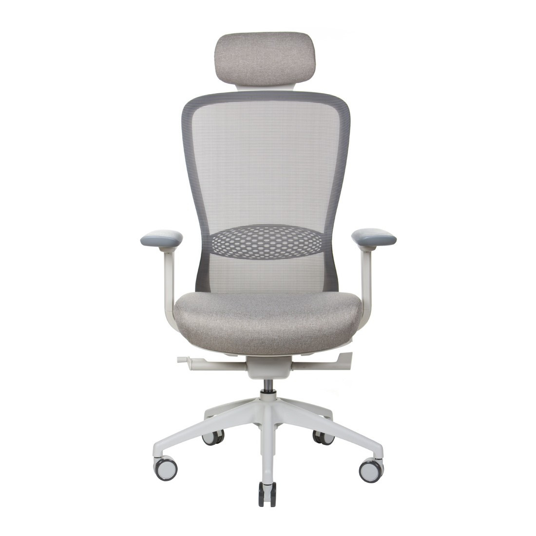Эргономичное кресло IN-POINT (LIGHT GREY + M61002)